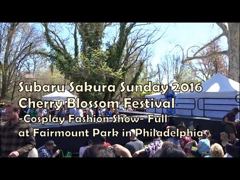 Cherry Blossom Festival 2016 -Cosplay Fashion Show- Full (HD)