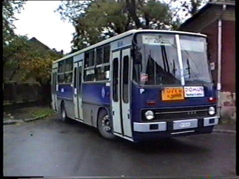 1993.11.07. 25-ös, 70-es buszok terelve Rákospalotán (Eötvös u.- Dobó u.- Bocskai u.- Szőcs Áron u.)