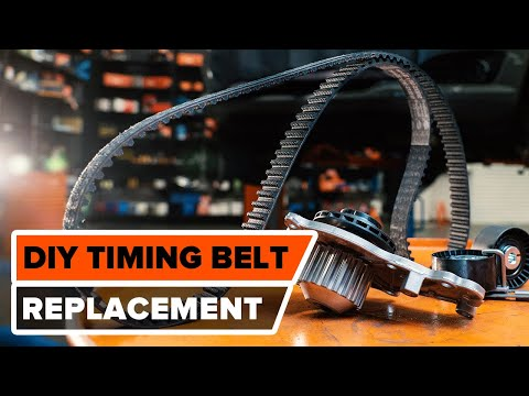 How to changetiming belt kit and water pump on PEUGEOT 307 (3H) [TUTORIAL AUTODOC]