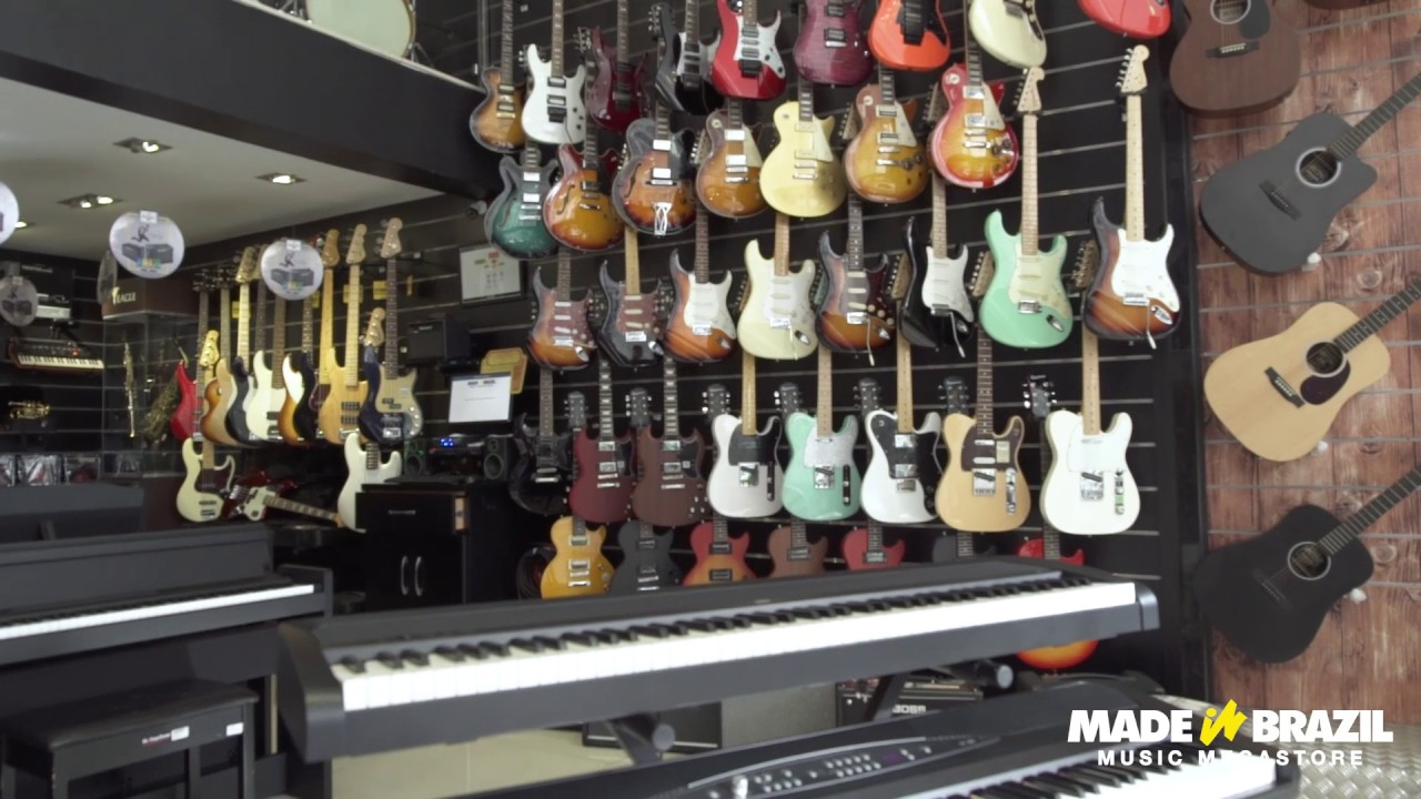 made in brazil a sua loja de instrumentos musicais no abc youtube