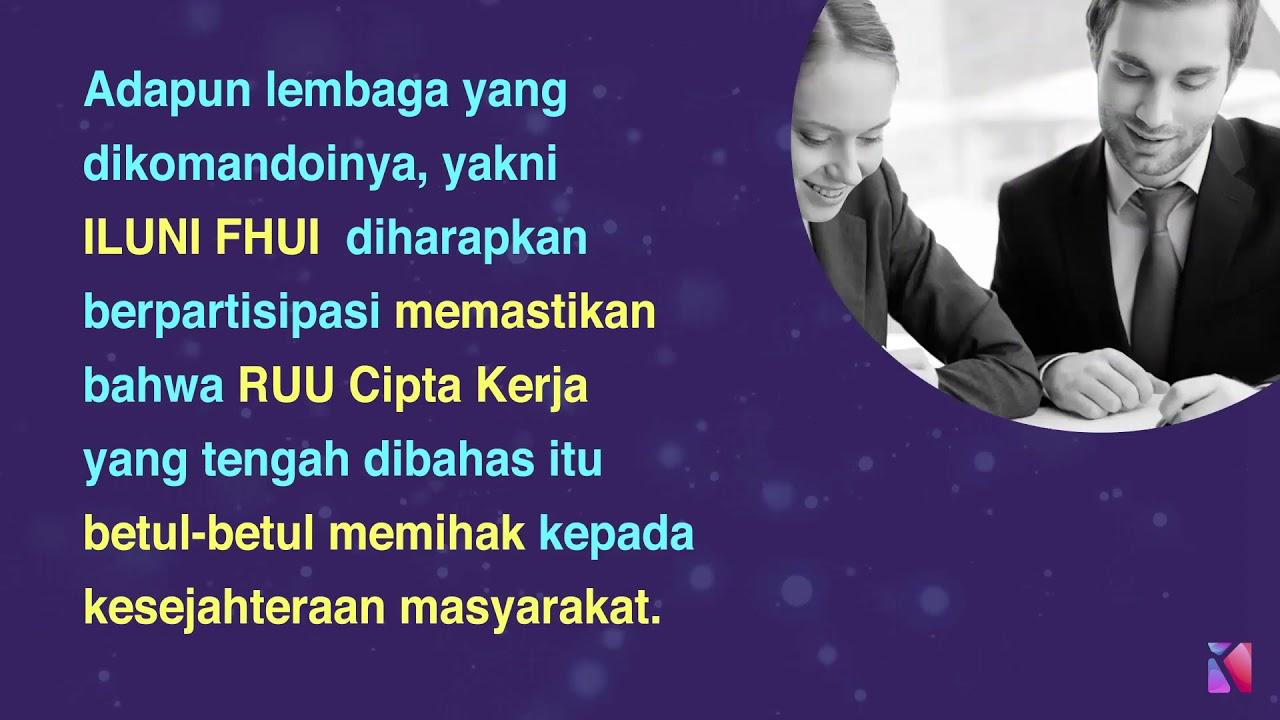 RUU Cipta Kerja Harus Relevan Dengan Kondisi Indonesia ...