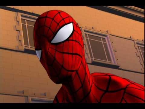 CG Spider-Man test