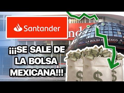 ¿EL BANCO SE DESPIDE DE MÉXICO? Llegó hace 25 años ¡Ya hay RECOMPRA de sus ACCIONES!  Caso SANTANDER
