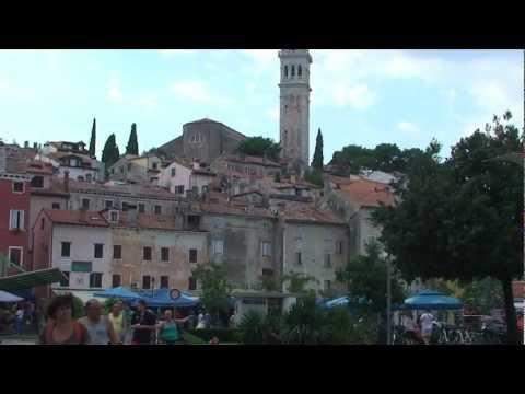 Scenes from Rovinj, Istria, Croatia
