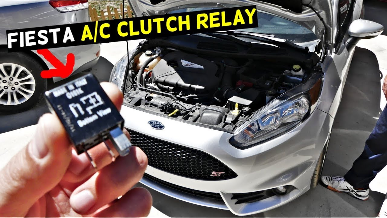 Ford Focus Fuse Diagram Ford Fiesta A C Clutch Relay Air Conditioner Relay Mk7 St