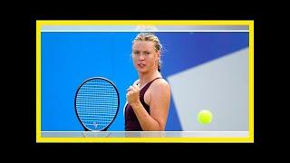 Maria sharapova türk tenisi için çalışacak Video