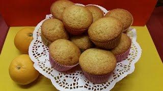 Receta: Muffins Veganos de Naranja – La Cocinadera
