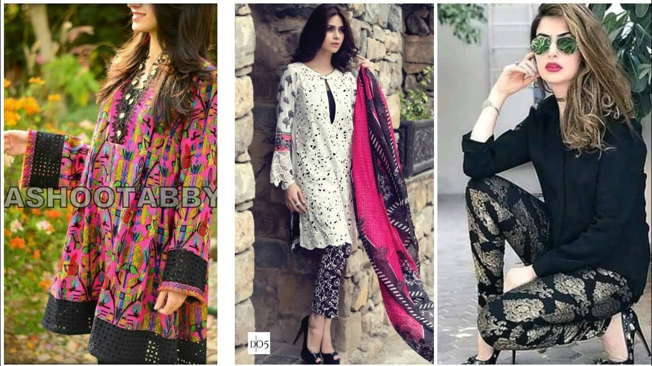 [VIDEO] - latest top collection of casual wear summer dress designs ideas for womens 2019 3