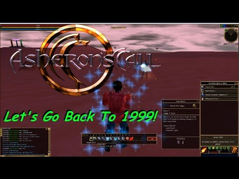 Asheron's Call - Let's Go Back To 1999 And Discuss Why This Game Was So Great!
