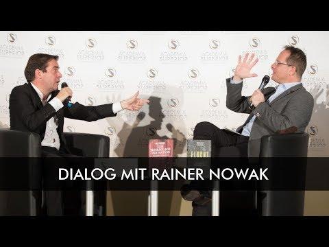 """DIALOG """"Medien, Macht und Politik"""" mit Rainer Nowak   Langfassung"""