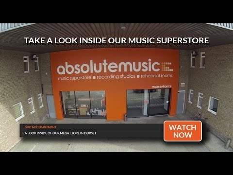 Absolute Music: Tour Of Our Guitar Dept