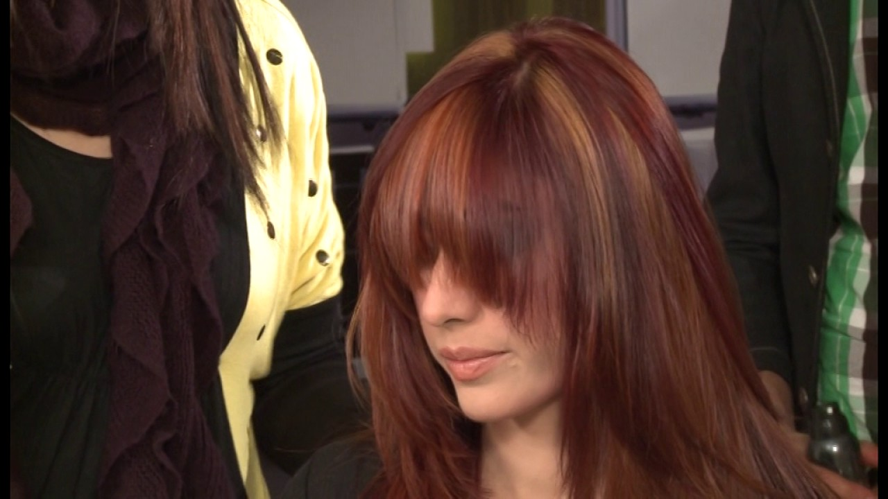 Keune Multiple Color Highlights Without Using Bleach Part 3 Youtube