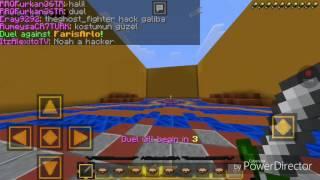 """KEREM OyunTR vs Acemi Oyuncu!!""Minecraft Pe 1v1 Duel ft.OyunTR,Halil Mc"