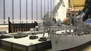 Scratch Built N Scale Level Luffing Crane