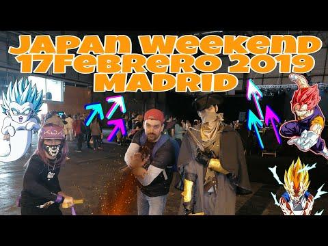 Cosplay Japan Weekend en Madrid Feb2019 Resumen