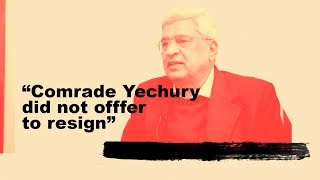 Prakash Karat on differences within CPI(M) on what tactical line it should adopt