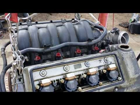 BMW 740iL 540i Engine Diagram Maintenance M62tu 4.4 Vanos - YouTube