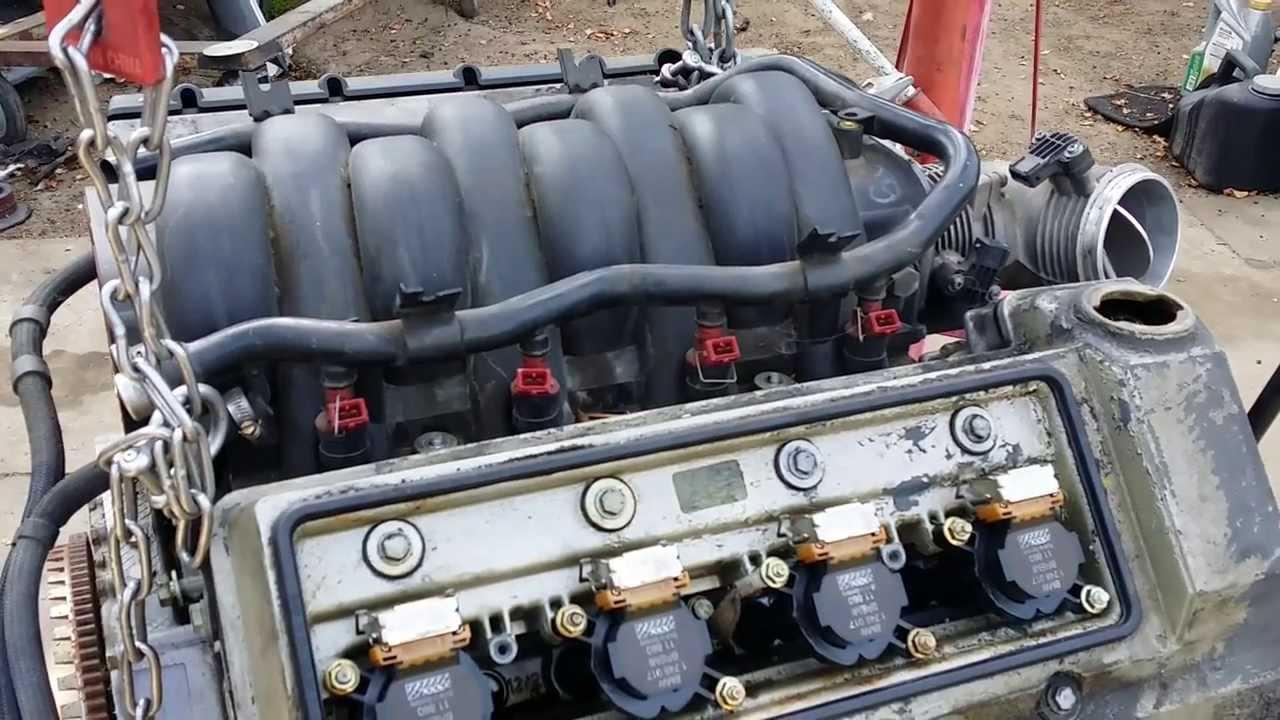 2001 bmw 740il engine diagram peavey predator plus wiring 540i maintenance m62tu 4.4 vanos - youtube