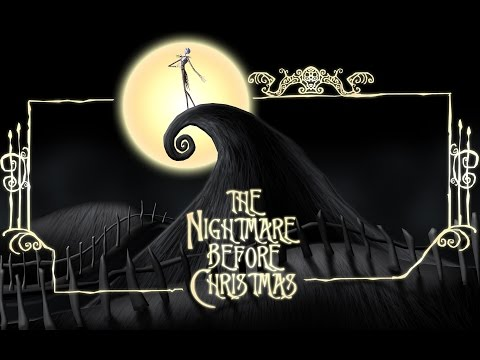 NIGHTMARE BEFORE CHRISTMAS - Town Meeting (KARAOKE clip) - Instrumental, lyrics on screen