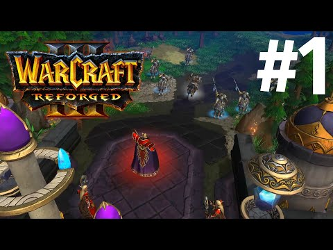 НЕДОПОНИМАНИЕ! - ПРОКЛЯТИЕ ЭЛЬФОВ КРОВИ! - ПРОХОЖДЕНИЕ Warcraft III: Reforged #1