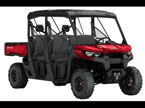 Can Am Defender Max By Brp 2016 2017
