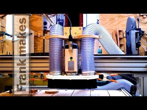 CNC Dust Collection part 1