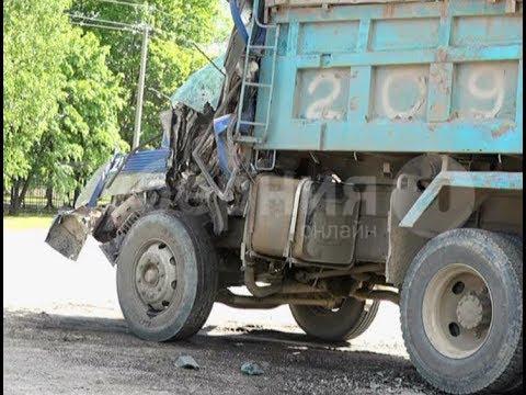 Водитель самосвала чуть не погиб под Хабаровском в свой первый рабочий день. Mestoprotv