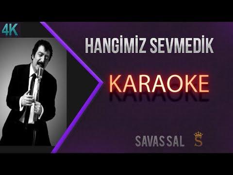 Hangimiz Sevmedik RMX Karaoke 4k