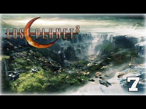 Смотреть прохождение игры [Coop] Lost Planet 2. Серия 7 - Буря в пустыне.