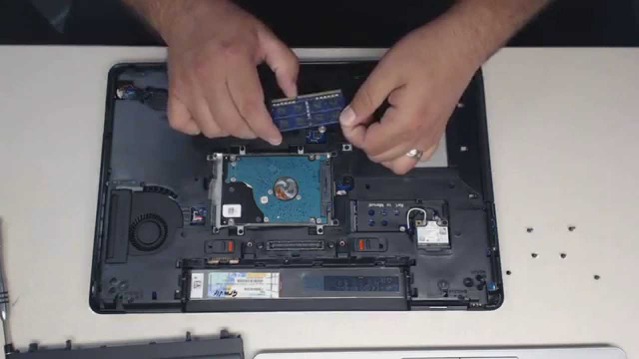 Install Memory In A Dell E5540 Laptop Youtube