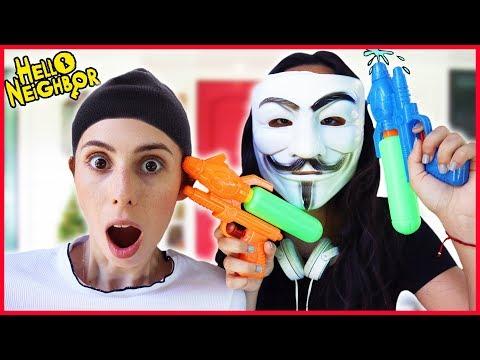 Gerçek Hayatta Hello Neighbor Slime Kurtarma Eğlenceli Çocuk Videosu Dila Kent