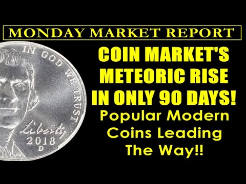 Coin Market's Record Setting Pace Can Last Until 2021 - MONDAY MARKET REPORT