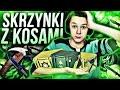 OTWIERAM SKRZYNKĘ Z KOSAMI ! - SKLEP-SKINY.PL