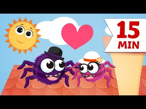 ITSY BITSY SPIDER | Incy Wincy Spiderman And More Nursery Rhymes For Babies & Toddlers