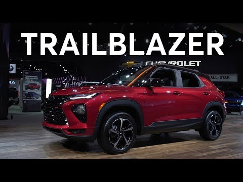2019 LA Auto Show: 2021 Chevrolet Trailblazer | Consumer Reports