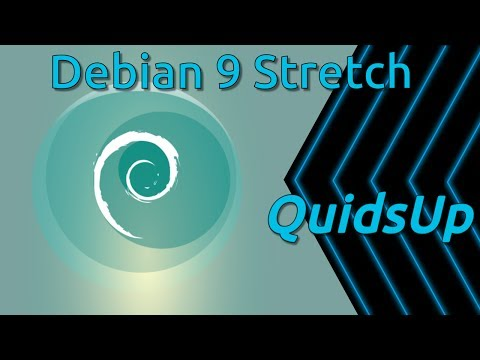 Debian 9 Stretch Review with Gnome Desktop