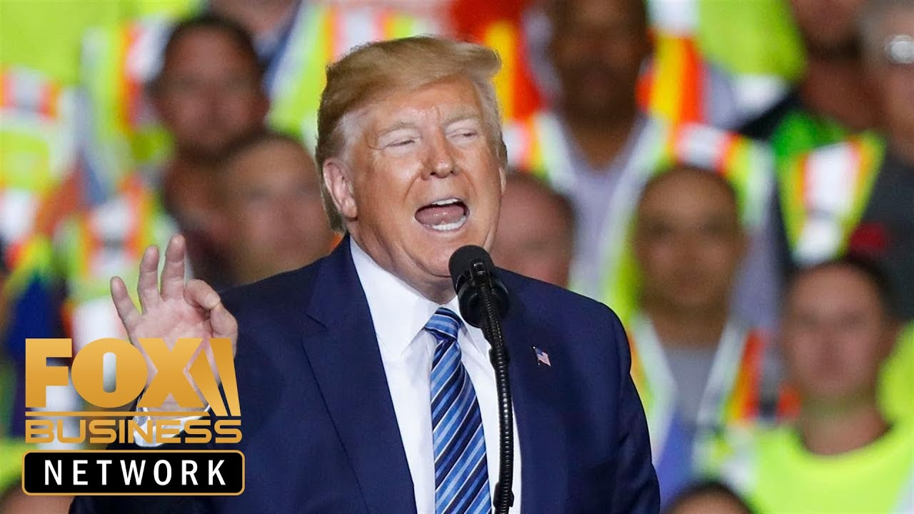 FOX Business Trump rips 'far-left energy nightmare' during fiery PA speech