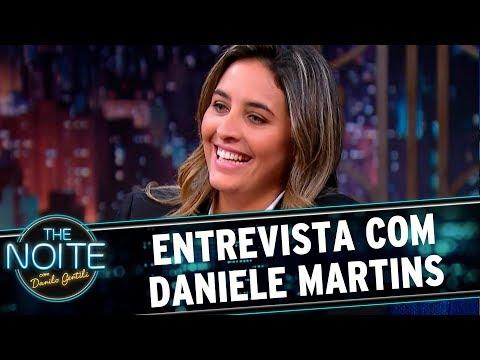 Entrevista com Daniele Martins | The Noite (06/09/17)