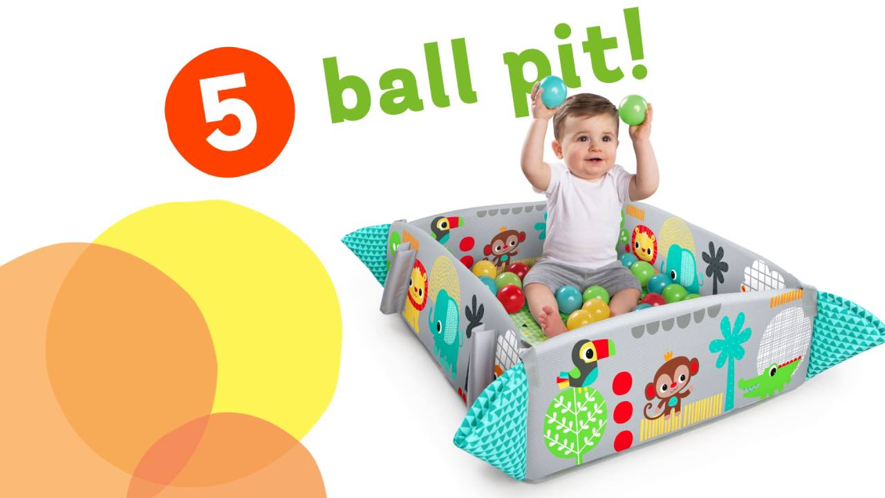 b4596788d6b 5-in-1 Your Way Ball Play™ Activity Gym - YouTube