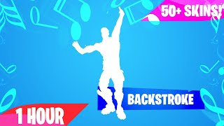 Fortnite - BACKSTROKE Emote (1 Hour) (Music Download Included)