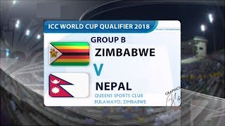 ICC CWC Qualifier 2018 Nepal Full Fixtures  | NEPAL | #CWCQ18