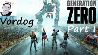 Generation Zero - СЕКС С РОБОТАМИ/ИЛИ ВООРУЖЕННЫЕ СОБАКИ - 1 Часть