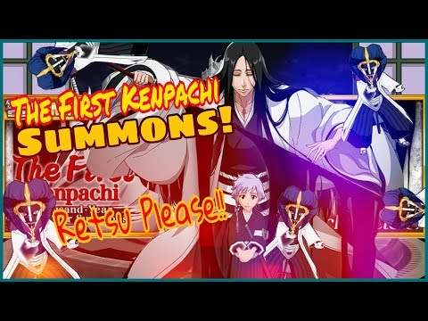 Bleach Brave Souls: The First Kenpachi Summons! Thanks Klab! ft. The Unknown Gambler