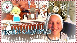 ☃️ FROZEN CHRISTMAS AT DISNEY ❄️  | 🎄 DISNEY AT CHRISTMAS RESORT TOUR