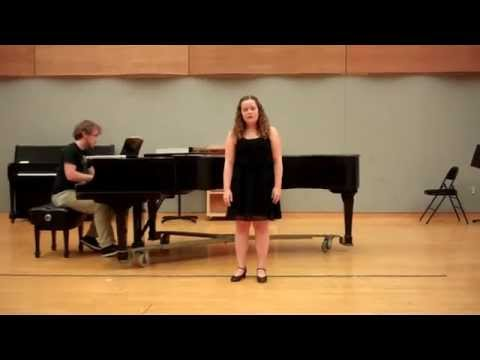 Have peace, Jo from Little Women - Mark Adamo - Megan Benjamin, soprano