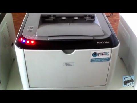 Impressora Ricoh 3410dn - ERRO E SOLUÇÃO