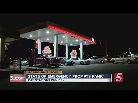 Panic Fuels Gas Shortage In Nashville