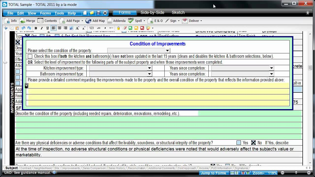 Uniform Appraisal Dataset, Field By Field in a URAR - YouTube
