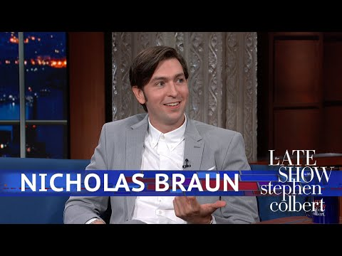 Nicholas Braun Is On A First-Name Basis With Bill Clinton