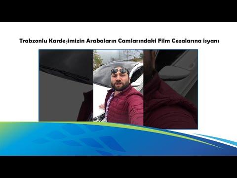 Trabzonlu Kardeşimizin Arabaların Camlarındaki Film Cezalarına İsyanı